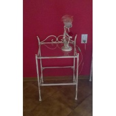 Bedside Table Wrought Iron. Personalised Executions. 1250