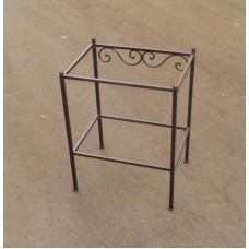Bedside Table Wrought Iron. Personalised Executions. 870