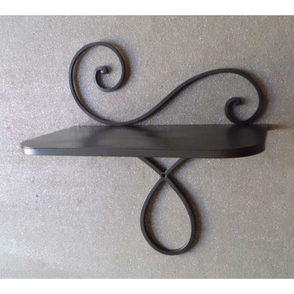 Bedside Table Wrought Iron. Color Iron. 873