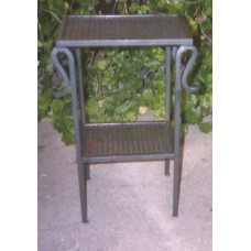 Bedside Table Wrought Iron. Personalised Executions. 882