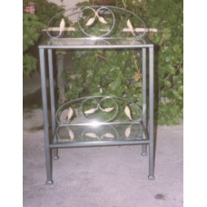 Bedside Table Wrought Iron. Personalised Executions. 883