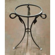 Bedside Table Wrought Iron. Personalised Executions. 888