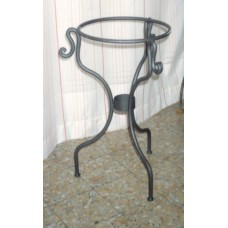 Bedside Table Wrought Iron. Personalised Executions. 889