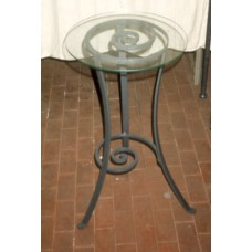 Bedside Table Wrought Iron. Personalised Executions. 898