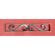RAILING Balustrade for window in Iron with laser design . Personalised Executions . 1045