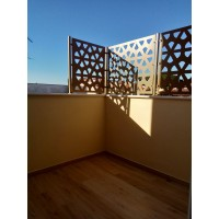 Iron RAILING with laser design. Personalised Executions. 919