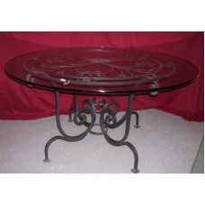 Table Wrought Iron. Cm 150 approx . 632