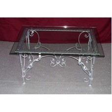Coffee Table Wrought Iron. Cm 60 x 90. 637