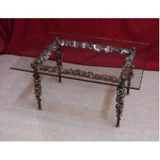 Coffee Table Wrought Iron. Cm 60 x 80. 639
