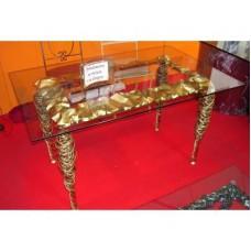 Table Wrought Iron. Cm 140 x 80. 639