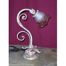 Wrought Iron Abat Jour Lamp. Personalised Executions. 1703