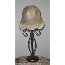 Wrought Iron Abat Jour Lamp. Personalised Executions. 713