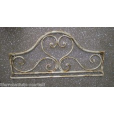 Wrought Iron Towel Rack . Personalised Executions.  1000