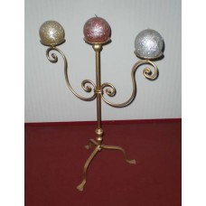 Wrought Iron Candelabra  . Personalised Executions. 1006