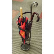 Wrought Iron Umbrella Stand. Personalised Executions.  1007