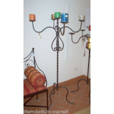 Wrought Iron Candelabra . Personalised Executions. 1022
