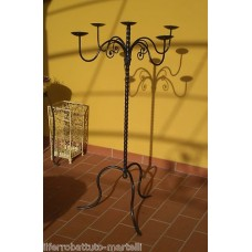 Wrought Iron Candelabra . Personalised Executions. 1023