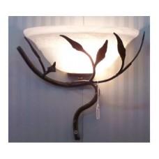 WROUGHT IRON WALL LAMP design . 114