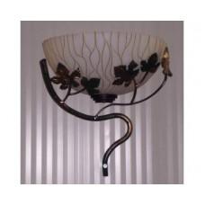 WROUGHT IRON WALL LAMP design . 117