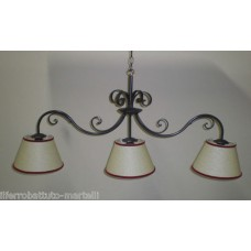 Wrought Iron Chandelier. Personalised Executions.  with STANDARD or SMART lighting . 208