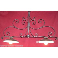 Wrought Iron Chandelier. Personalised Executions .  with STANDARD or SMART lighting . 221