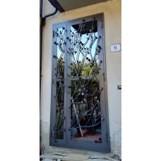 Wrought Iron Gate Door. Personalised Executions. 1375
