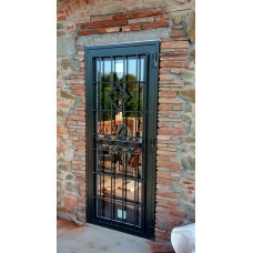 Wrought Iron Gate Door. Personalised Executions. 1377