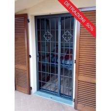 Wrought Iron Gate Door. Personalised Executions. 1374