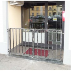 Wrought Iron Pedestrian Gate. Personalised Executions. 047