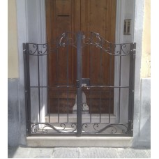 Wrought Iron Pedestrian Gate. Personalised Executions. 048