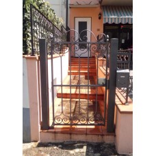 Wrought Iron Pedestrian Gate. Personalised Executions. 049