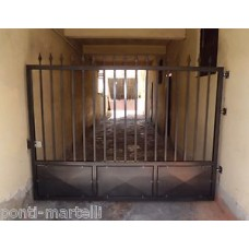 Wrought Iron Driveway Gate. Personalised Executions. 052