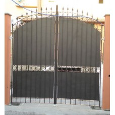 Wrought Iron Driveway Gate. Personalised Executions. 059