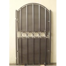 Wrought Iron Pedestrian Gate. Personalised Executions. 065