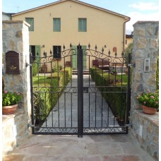 Wrought Iron Pedestrian Gate. Personalised Executions. 066