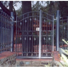 Wrought Iron Pedestrian Gate. Personalised Executions. 068