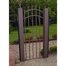 Wrought Iron Pedestrian Gate. Personalised Executions. 069