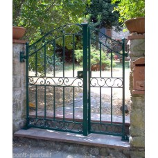 Wrought Iron Pedestrian Gate. Personalised Executions. 070