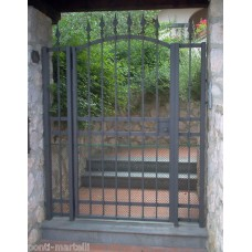 Wrought Iron Pedestrian Gate. Personalised Executions. 071