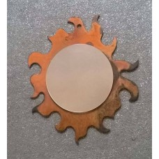 Frame design in IRON with mirror . 817
