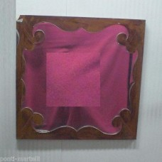 Frame design WROUGHT IRON for mirror or photos without LED. cm 70 x 70. 830