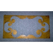 Frame design WROUGHT IRON for mirror or photos without LED. cm 100 x 50 . 830