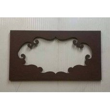 Frame design WROUGHT IRON for mirror or photos without LED. cm 110 x 60 . 830