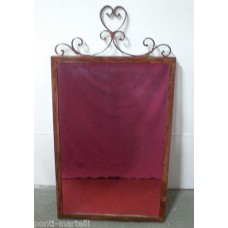 Frame design WROUGHT IRON for mirror or photos without LED. cm 60 x 115. 848