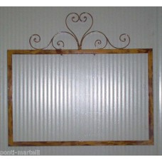 Frame design WROUGHT IRON for mirror or photos without LED. cm 83 x 90. 848