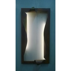 Frame design WROUGHT IRON for mirror or photos with LED. cm 55,5 x 107,5 . 849