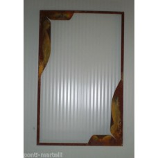 Frame design WROUGHT IRON for mirror or photos without LED. cm 60 x 95 . 849