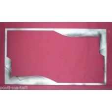 Frame design WROUGHT IRON for mirror or photos without LED. cm 90 x 50. 849