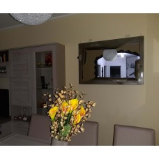 Frame design WROUGHT IRON for mirror or photos with or without LED. Personalised Executions. 849