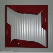 Frame design WROUGHT IRON for mirror or photos without LED. cm 60 x 60. 849